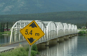 Bridge at Teslin, Yukon Territory